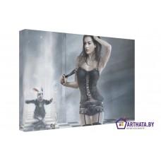 Картина на холсте по фото Модульные картины Печать портретов на холсте Алиса в стране чудес