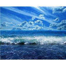 Картина на холсте по фото Модульные картины Печать портретов на холсте Волны - Фотообои Море
