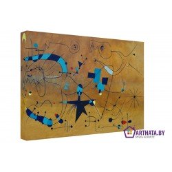 Joan Miro_002 - Модульная картины, Репродукции, Декоративные панно, Декор стен
