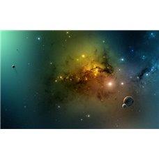 Картина на холсте по фото Модульные картины Печать портретов на холсте Космос - Фотообои Космос