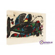 Картина на холсте по фото Модульные картины Печать портретов на холсте Joan Miro_003