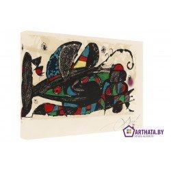 Фото на холсте Печать картин Репродукции и портреты - Joan Miro_003