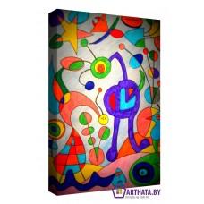 Картина на холсте по фото Модульные картины Печать портретов на холсте Joan Miro_004