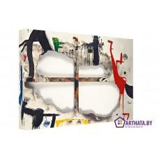 Картина на холсте по фото Модульные картины Печать портретов на холсте Joan Miro_005