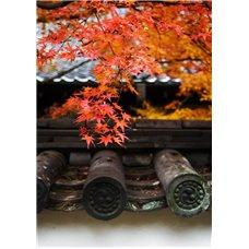 Картина на холсте по фото Модульные картины Печать портретов на холсте Японский храм в Киото - Фотообои Японские и просто сады