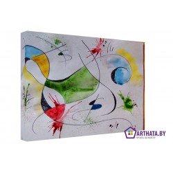 Фото на холсте Печать картин Репродукции и портреты - Joan Miro_006