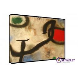 Фото на холсте Печать картин Репродукции и портреты - Joan Miro_007