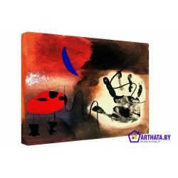 Фото на холсте Печать картин Репродукции и портреты - Joan Miro_010