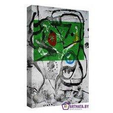 Картина на холсте по фото Модульные картины Печать портретов на холсте Joan Miro_011