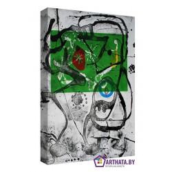 Joan Miro_011 - Модульная картины, Репродукции, Декоративные панно, Декор стен