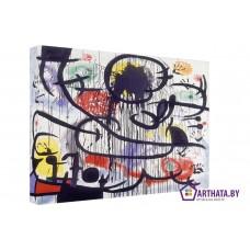 Картина на холсте по фото Модульные картины Печать портретов на холсте Joan Miro_012
