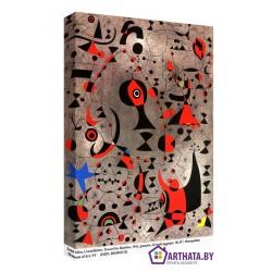 Joan Miro_013 - Модульная картины, Репродукции, Декоративные панно, Декор стен