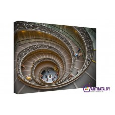 Картина на холсте по фото Модульные картины Печать портретов на холсте Стремительная спираль