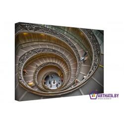 Фото на холсте Печать картин Репродукции и портреты - Стремительная спираль