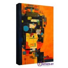Картина на холсте по фото Модульные картины Печать портретов на холсте Примитивизм