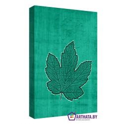 Кленовый лист - Модульная картины, Репродукции, Декоративные панно, Декор стен