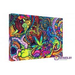 Ганжа - Модульная картины, Репродукции, Декоративные панно, Декор стен