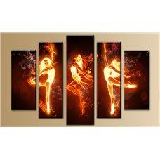 Картина на холсте по фото Модульные картины Печать портретов на холсте Модульная картина на холсте - 5m-486
