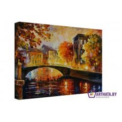 Городской мост - Модульная картины, Репродукции, Декоративные панно, Декор стен