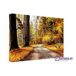 Рыжая осень - Модульная картины, Репродукции, Декоративные панно, Декор стен