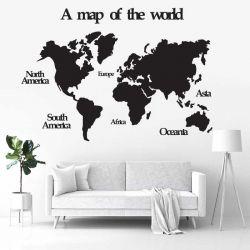 """Панно """"Карта мира"""" - Модульная картины, Репродукции, Декоративные панно, Декор стен"""