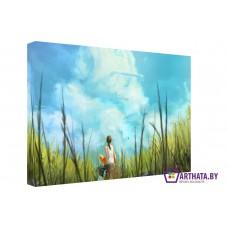 Картина на холсте по фото Модульные картины Печать портретов на холсте Над пропастью во ржи
