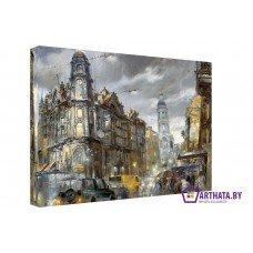 Картина на холсте по фото Модульные картины Печать портретов на холсте Old Town