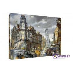 Old Town - Модульная картины, Репродукции, Декоративные панно, Декор стен