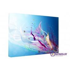 Картина на холсте по фото Модульные картины Печать портретов на холсте Небесный взрыв