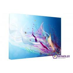 Небесный взрыв - Модульная картины, Репродукции, Декоративные панно, Декор стен