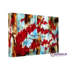 Картина на холсте по фото Модульные картины Печать портретов на холсте Осень
