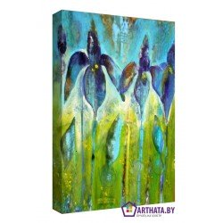 Цветы - Модульная картины, Репродукции, Декоративные панно, Декор стен