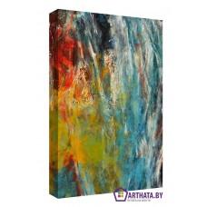 Картина на холсте по фото Модульные картины Печать портретов на холсте Цветной гранж