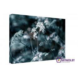 Молчаливый цветок - Модульная картины, Репродукции, Декоративные панно, Декор стен