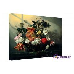 Фото на холсте Печать картин Репродукции и портреты - Натюрморт - букет