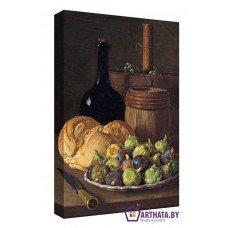 Картина на холсте по фото Модульные картины Печать портретов на холсте Хлеб и вино
