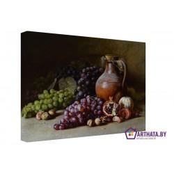 Кувшин вина - Модульная картины, Репродукции, Декоративные панно, Декор стен