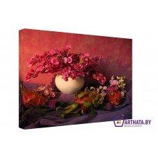 Картина на холсте по фото Модульные картины Печать портретов на холсте Красные цветы