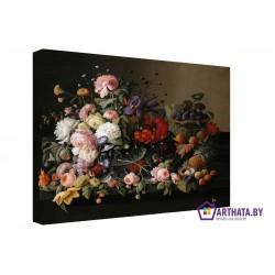 Много цветов - Модульная картины, Репродукции, Декоративные панно, Декор стен