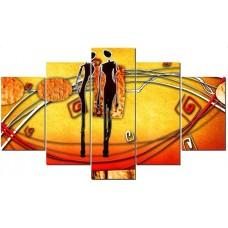 Картина на холсте по фото Модульные картины Печать портретов на холсте Два человека