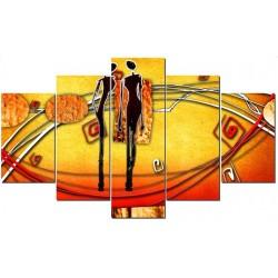 Два человека - Модульная картины, Репродукции, Декоративные панно, Декор стен