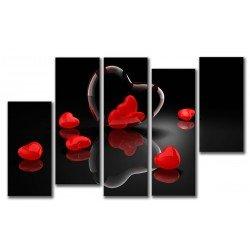 Разбитые сердца - Модульная картины, Репродукции, Декоративные панно, Декор стен