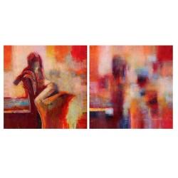 Фото на холсте Печать картин Репродукции и портреты - Абстракция - 2 части
