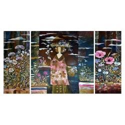 Фото на холсте Печать картин Репродукции и портреты - Картина из трех частей