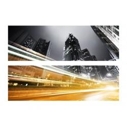 Фото на холсте Печать картин Репродукции и портреты - Ночной город