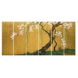 Японская сакура - Модульная картины, Репродукции, Декоративные панно, Декор стен