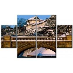 Японский замок - Модульная картины, Репродукции, Декоративные панно, Декор стен