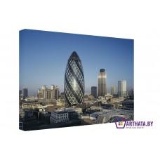 Картина на холсте по фото Модульные картины Печать портретов на холсте Будущее Лондона