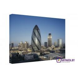 Фото на холсте Печать картин Репродукции и портреты - Будущее Лондона