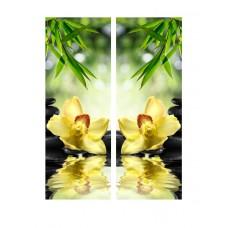 Картина на холсте по фото Модульные картины Печать портретов на холсте Орхидея над водой
